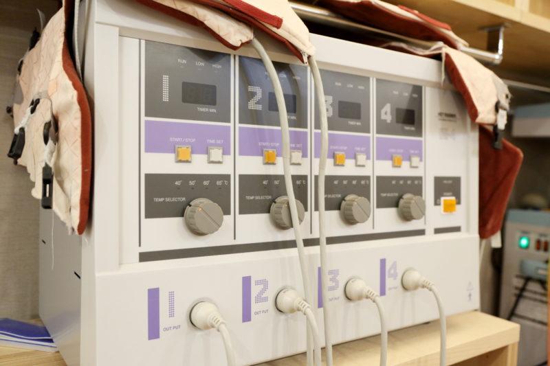 ホットマグナー 温熱治療 足立区