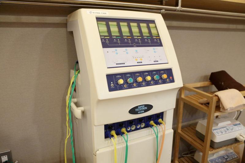 スーパーテクトロン HX606 低周波治療器 足立区